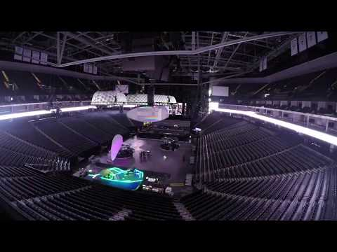 Lady Gaga - Joanne World Tour: Stage Build Time Lapse