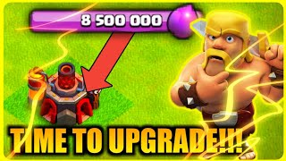 MAX LOOT! | TIME TO UPGRADE! ✅ | CLASH OF CLANS | TH10 FARM TO MAX |