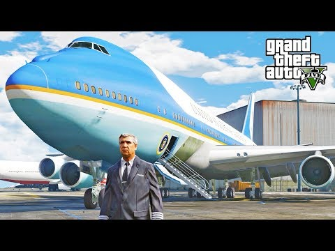 GTA 5 SP #76 - Air Force One Mod