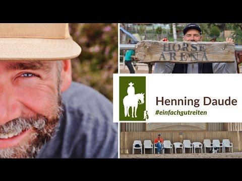 Bild: Reitunterricht der besonderen Art - der Trailer vom Ausbilder Henning Daude