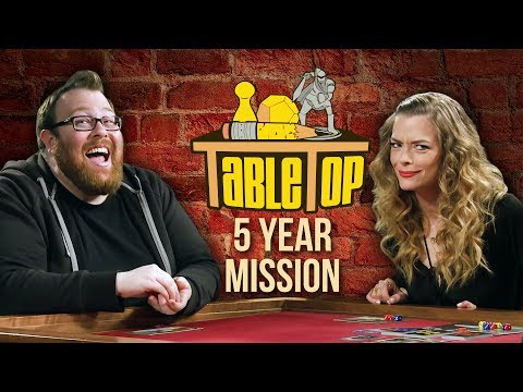 TableTop: Wil Wheaton Plays STAR TREK: FIVE YEAR MISSION w/ Jessica Chobot, Jaime King, & Jesse Cox