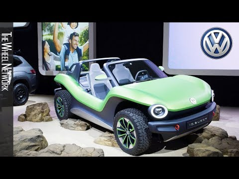 Volkswagen ID. Buggy at the 2019 New York Auto Show