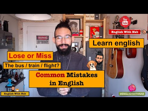 Very Common Mistakes in English // Learn English