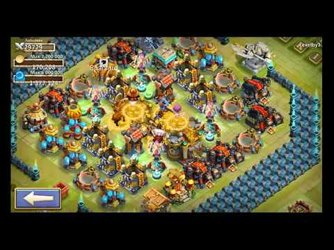 Castle Clash Dominator Acc Consumed