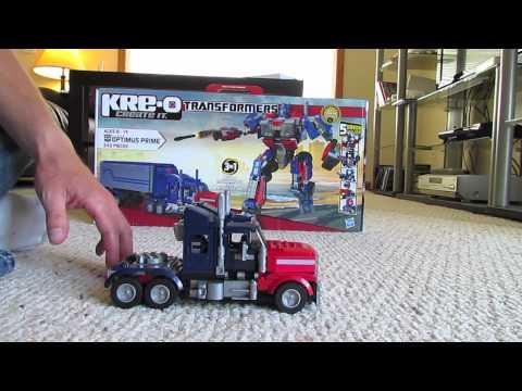 Kre-O Optimus Prime Part 1