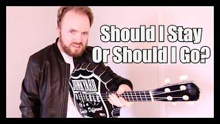 Should I Stay Or Should I Go  - Stranger Things - The Clash Ukulele Tutorial