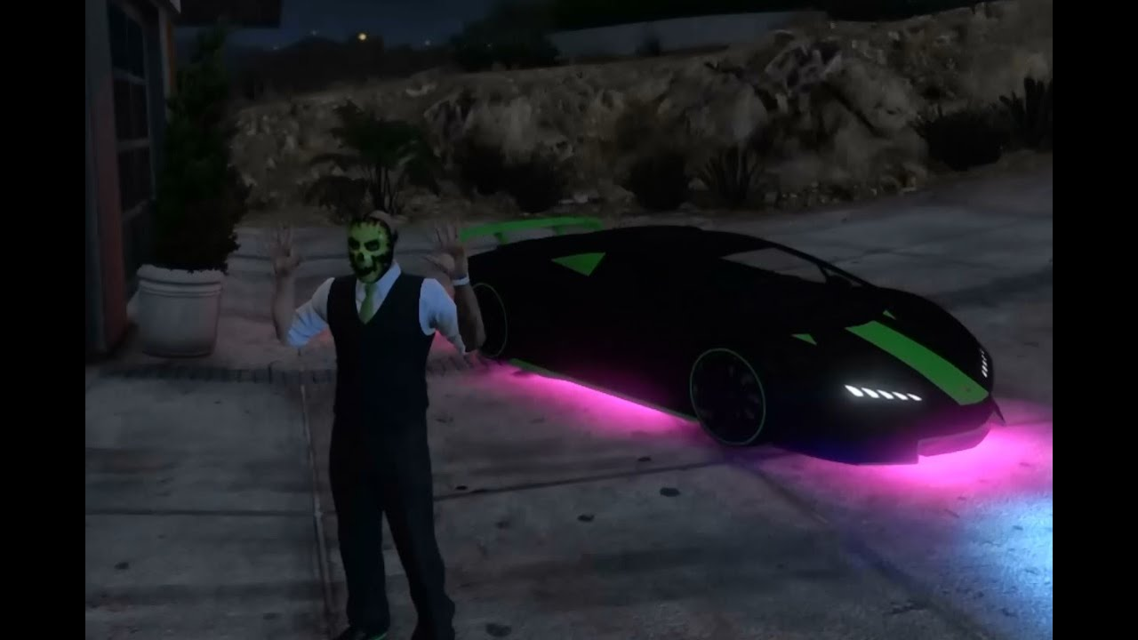 how to get neon bike gta v ps4