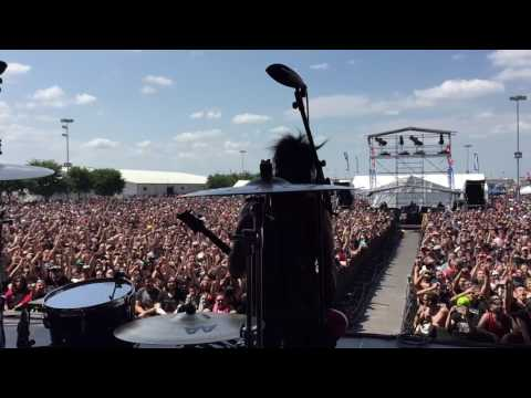 DISTURBED - Mike performing with Sixx AM