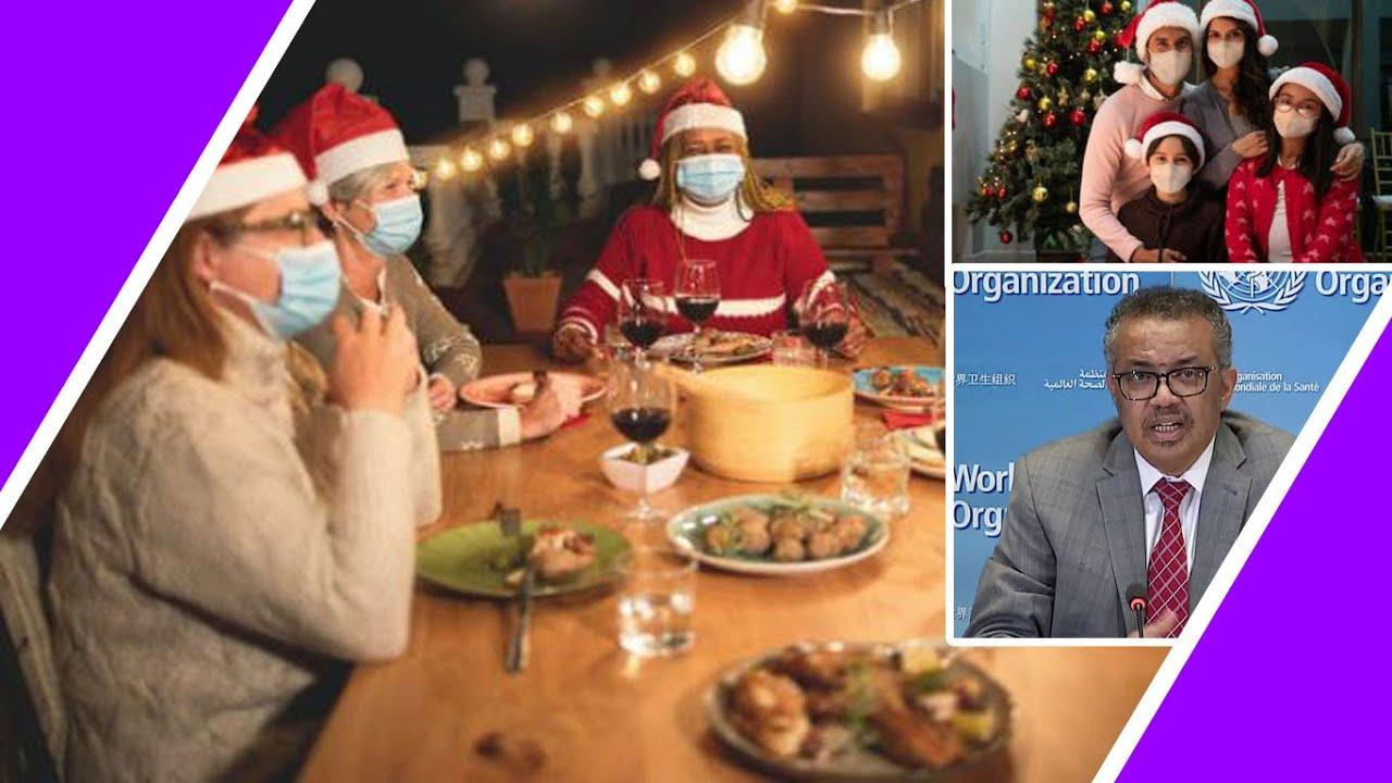 Wear Masks ? For CHRISTMAS ? DINNER ? Says WHO / Hugo Talks #lockdown