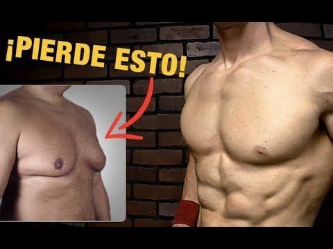ejercicios para quemar grasa abdominal y pectoral