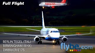 Flybe Full Flight | Berlin Tegel to Birmingham | Embraer E175