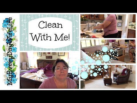 Clean With Me! || Whole House Cleaning