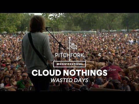 "Cloud Nothings perform ""Wasted Days"" - Pitchfork Music Festival 2014"