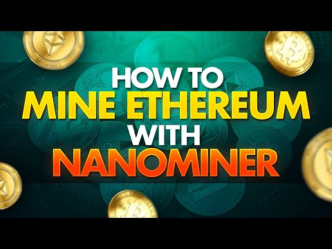 How To Mine Ethereum With Nanominer | Nanopool | Easy Setup 10 Mins | ETH