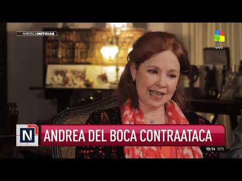 Andrea del Boca con América Noticias: Soy inocente