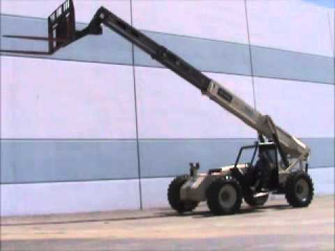 For Sale Ingersoll-Rand VR-843 Telescopic Reach Forklift ...