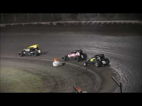 Lasalle Speedway Non Wing Sprint Car Feature  9 23 18