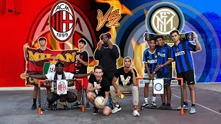 Milan VS Inter - BOTTA e RISPOSTA!! Milanisti vs Interisti