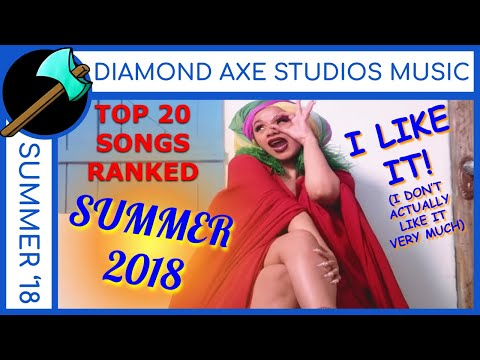 SUMMER 2018: Billboard Top 20 Pop Songs- Ranked WORST to BEST (Cardi B, Post Malone, Drake) Mp3