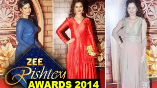 Zee Rishtey Awards 2014- Red Carpet!