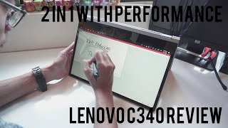 Lenovo C340 review Affordable 2 in 1 laptop for light photo and video editing