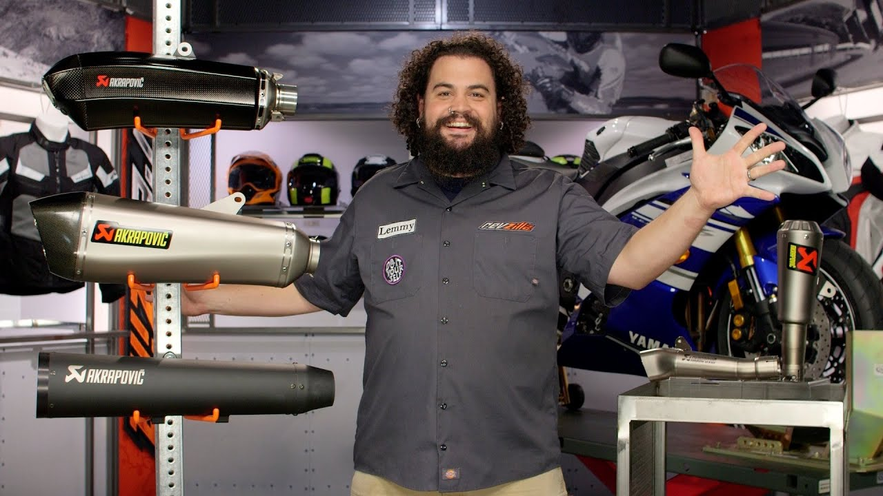 Download Akrapovic Slip-On Exhaust Buyers Guide at RevZilla.com