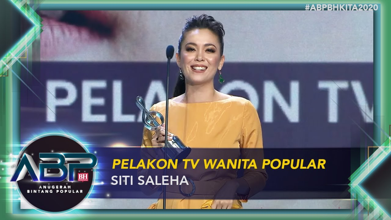 Download Siti Saleha - Pelakon TV Wanita Popular  | #ABPBHKITA2020