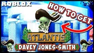 Roblox Atlantis Event | How to Get Davey Jones-Smith Hat in Sharkbite! | JixxyJax