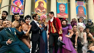 THE MAKING OF THE GREATEST SHOWMAN || HUGH JACKMAN || ZAC EFRON