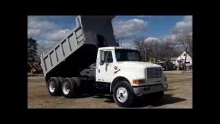 1990 International 4900 dump truck for sale | sold at auction April 11, 2013