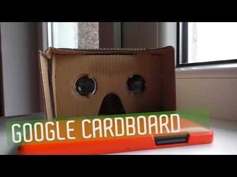 3D очки виртуальной реальности - Google Cardboard. Обзор [Under5DollarsBuy]
