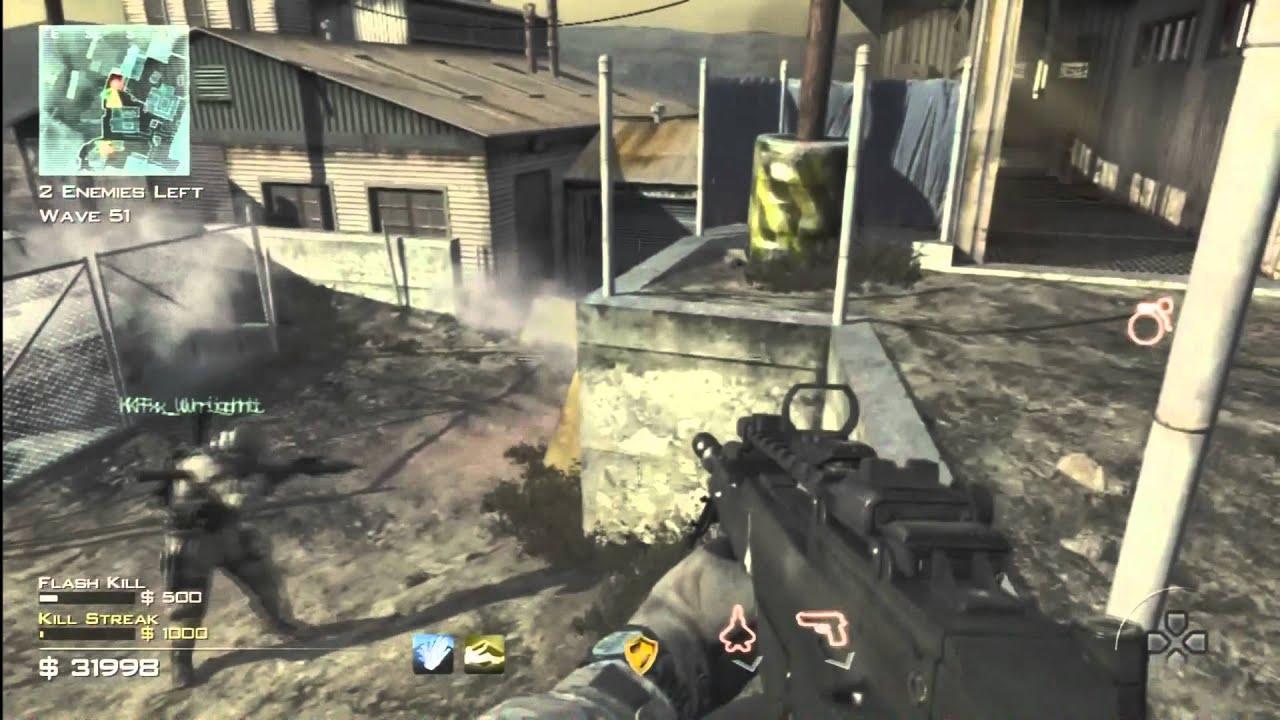 Call of Duty Modern Warfare 3 Survival Mode Carbon Wave 69