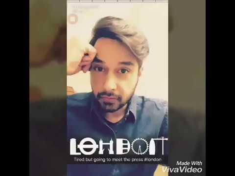 Faysal Qureshi, ijaz Aslam nd Ahmed Ali butt... Trip to LondOn..