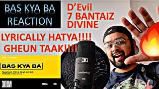 Gambar cover BAS KYA BA REACTION 7BANTAIZ, D'EVIL FEAT. DIVINE | SHUTDOWN | BROWN BOY REACTS REVIEW