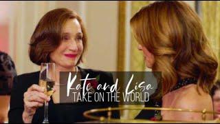 kate & lisa || take on the world