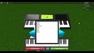 Gravity falls song on roblox piano (sheet in description)