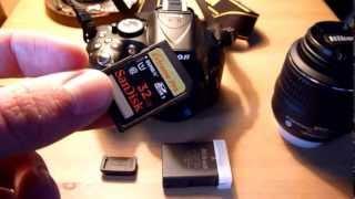 Nikon D5200 setup