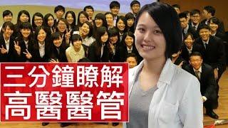 [3分鐘精華篇] 高雄醫學大學|醫務管理暨醫療資訊學系|張云瑄