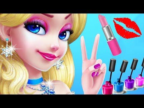 Fun Girl Care Kids Games - Ice Princess Makeover - Princess Makeup Spa Care Fun Games By Tabtale