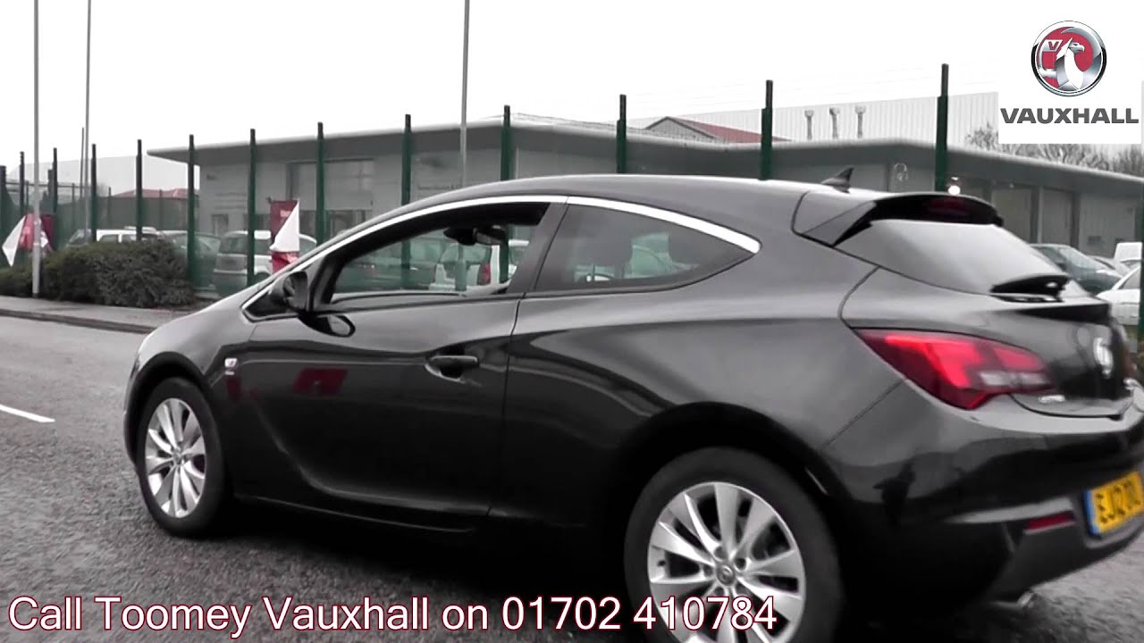 2012 vauxhall astra gtc sri 2l black ej12oru for sale at toomey vauxhall southend youtube. Black Bedroom Furniture Sets. Home Design Ideas