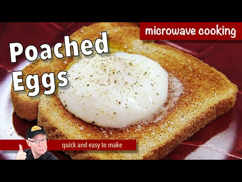 How long to poach an eggs in a microwave oven