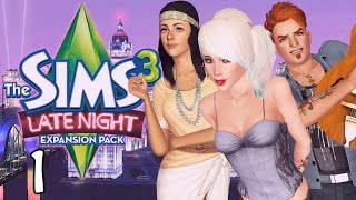 Let's Play The Sims 3 Late Night - Ep. 1 - Moving In!