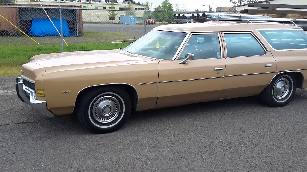 1972 chevy impala kingswood wagon sold youtube. Black Bedroom Furniture Sets. Home Design Ideas