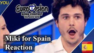Miki to represent Spain at Eurovision 2019 with La Venda (Reaction)