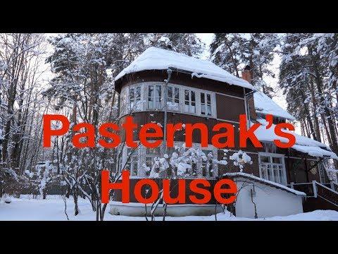 Pasternak's House In Peredelkino