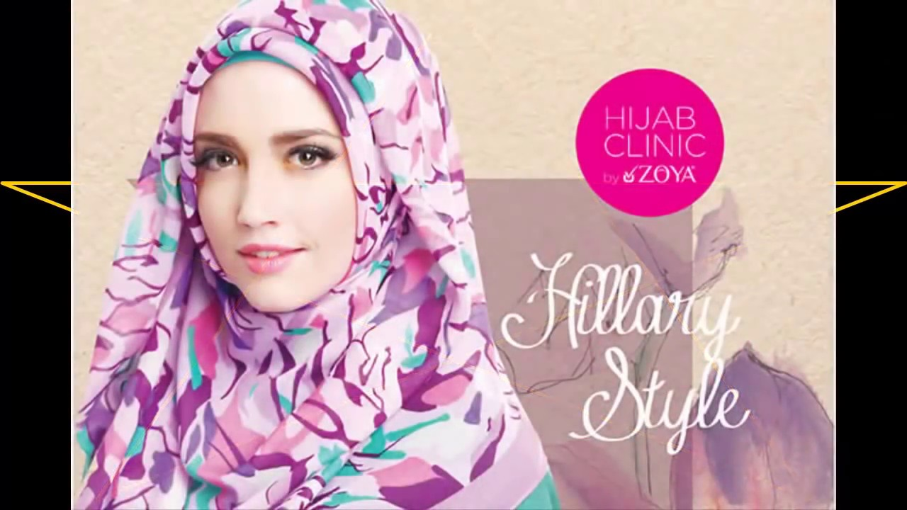 7 styles hijab tutorial 2017 ,2,zoya tutorial hijab modern model