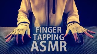[ASMR] Sticky Finger Tapping / Hand Movements - NO TALKING