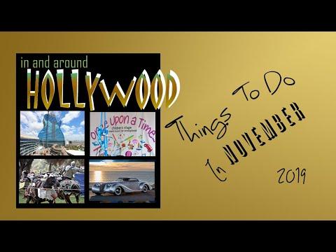 November Calendar Of Events Hollywood FL