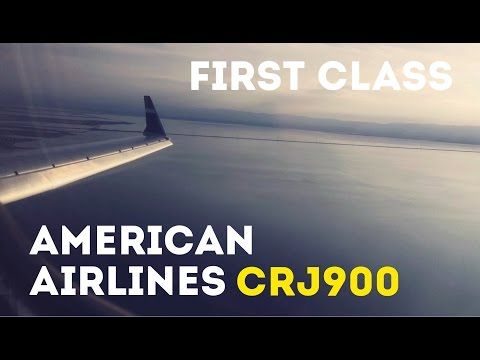 American Airlines First Class, CRJ900, PHX-OAK Trip Report
