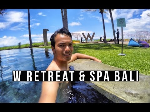 Experience a stay at W Retreat and Spa Bali